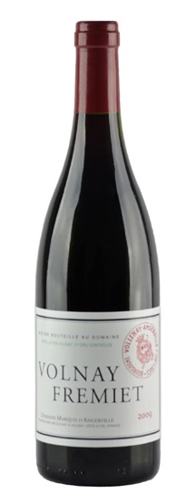 2010 Angerville, Marquis d' Volnay Fremiets