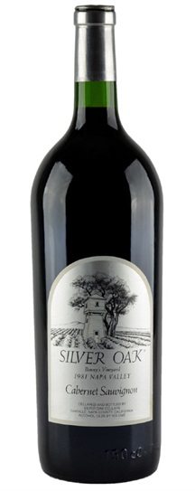 1981 Silver Oak Cellars Cabernet Sauvignon Bonny's Vineyard