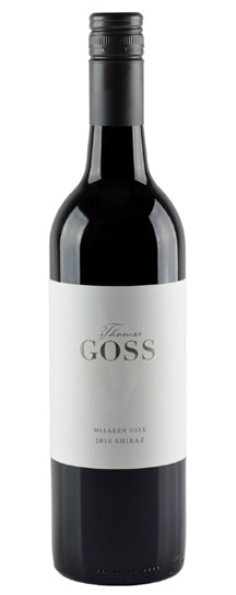 2010 Thomas Goss Shiraz