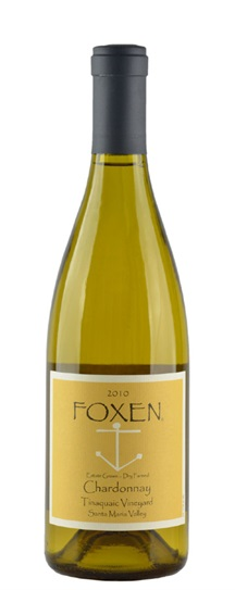 2010 Foxen Vineyard Chardonnay Tinaquaic Vineyard