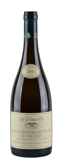 2011 Domaine de la Pousse d'Or Puligny Montrachet Caillerets