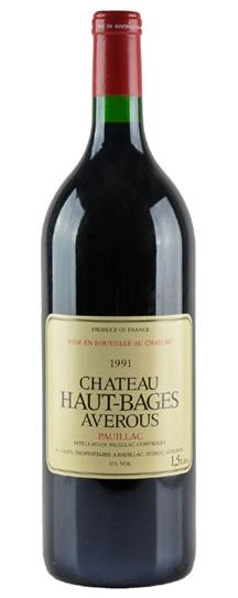 1991 Haut Bages Averous Bordeaux Blend