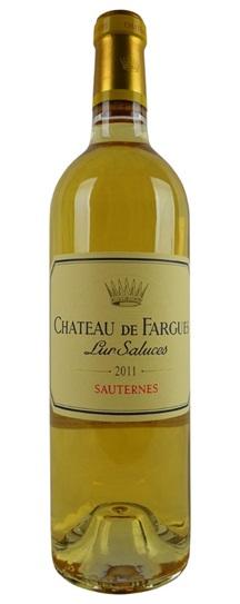 2011 Chateau de Fargues Sauternes Blend