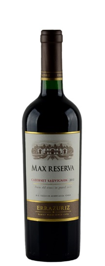 2010 Errazuriz Cabernet Sauvignon Max Reserva