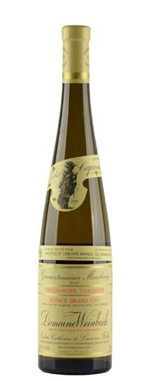 2010 Weinbach, Domaine Gewurztraminer Grand Cru Mambourg Vendange Tardive