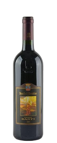 2003 Castello Banfi Brunello di Montalcino