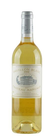 2002 Margaux, Pavillon Blanc du Chateau Bordeaux Blanc