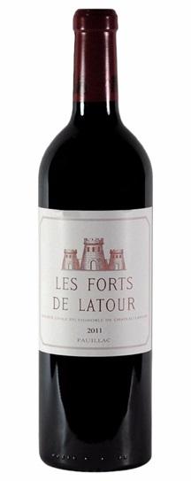 2011 Forts de Latour, Les Bordeaux Blend