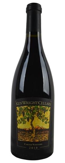 2010 Ken Wright Cellars Pinot Noir Carter Vineyard