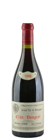 1998 Dominique Laurent Clos de Vougeot