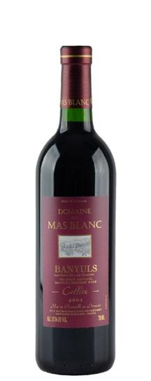 2004 Mas Blanc (Dr Parce), Domaine du Banyuls Collita