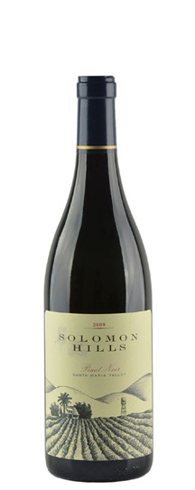 2009 Solomon Hills Winery Pinot Noir Solomon Hills Vineyard