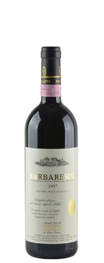 1997 Giacosa, Bruno Barbaresco Falletto