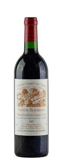 1987 Beausejour (Duffau Lagarrosse) Bordeaux Blend