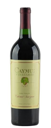 1992 Caymus Cabernet Sauvignon
