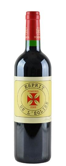 2009 Esprit De L'Eglise Bordeaux Blend