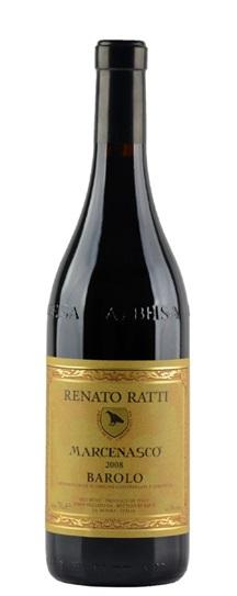 2008 Renato Ratti Barolo Marcenasco