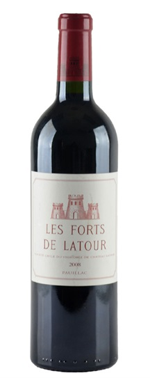 2008 Forts de Latour, Les Bordeaux Blend
