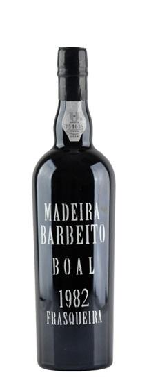 1982 Vinhos Barbeito Bual Madeira