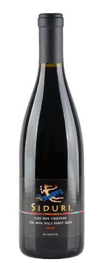 2009 Siduri Pinot Noir Clos Pepe Vineyard