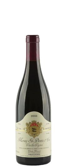 2003 Domaine Hubert Lignier Morey St Denis 1Er Cru Vieilles Vignes
