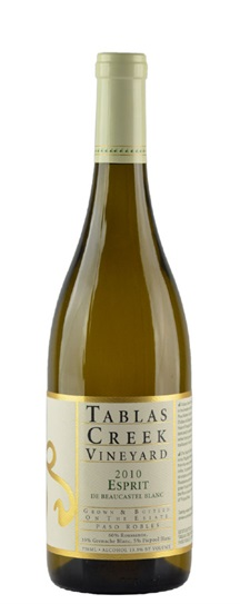 2010 Tablas Creek Esprit de Beaucastel Blanc