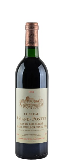 2003 Grand-Pontet Bordeaux Blend