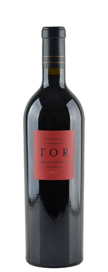 2001 Tor Kenward Family Vineyards Cabernet Sauvignon Clone 4 West Block