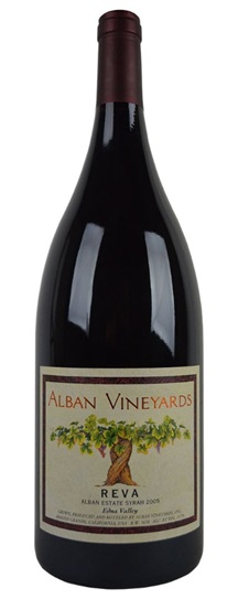 2005 Alban Vineyards Syrah Reva Alban Estate Vineyard