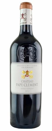 2012 Pape Clement Bordeaux Blend