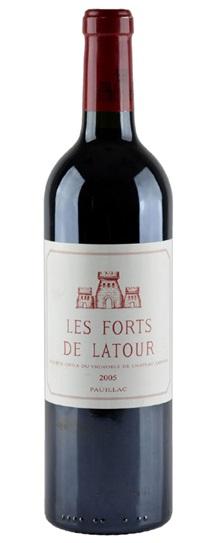 2005 Forts de Latour, Les Bordeaux Blend