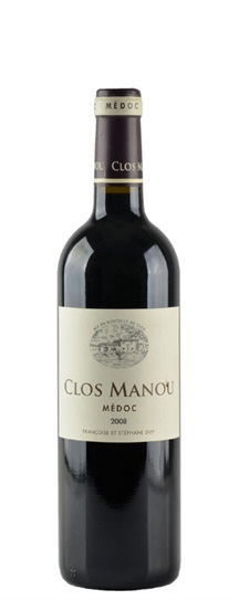 2009 Clos Manou Bordeaux Blend