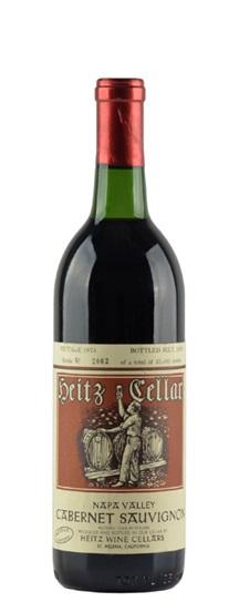 1976 Heitz Cabernet Sauvignon Martha's Vineyard