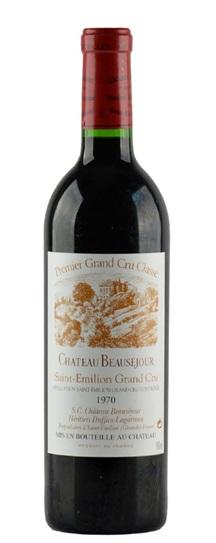 1970 Beausejour (Duffau Lagarrosse) Bordeaux Blend