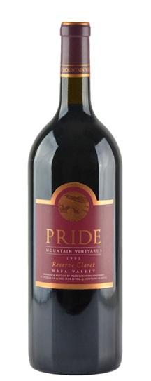 2002 Pride Mountain Vineyards Reserve Claret