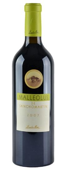 2007 Moro, Bodegas Emilio Malleolus de Sancho Martin