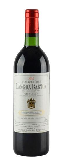 1989 Langoa Barton Bordeaux Blend