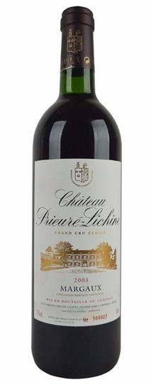 2003 Prieure-Lichine Bordeaux Blend