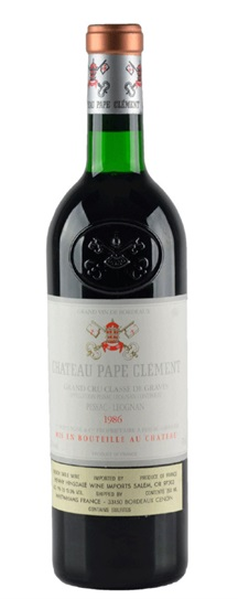 1986 Pape Clement Bordeaux Blend