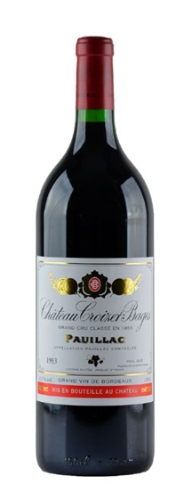 1983 Croizet Bages Bordeaux Blend