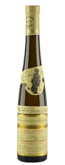 2005 Weinbach, Domaine Gewurztraminer Grand Cru Mambourg Selection de Grains Nobles