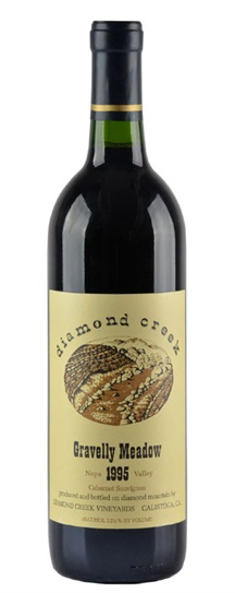 1976 Diamond Creek Cabernet Sauvignon Gravelly Meadow
