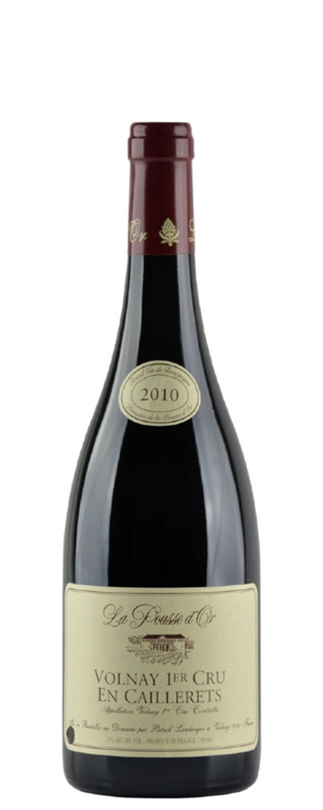 Buy 2010 pousse d 39 or domaine de la volnay en caillerets for La fenetre a cote pinot noir 2012