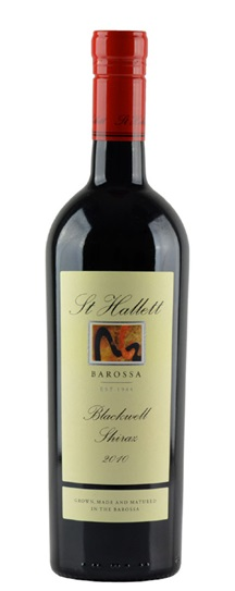 2010 St Hallett Shiraz Blackwell