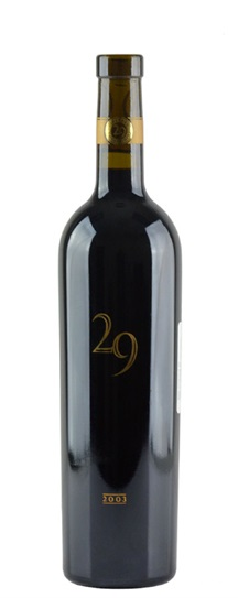 1992 Vineyard 29 Cabernet Sauvignon