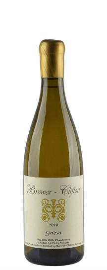 2010 Brewer-Clifton Chardonnay Gnesa