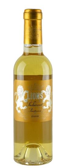 2009 Les Lions de Suduiraut Sauternes Blend