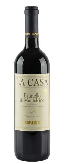 2006 Caparzo Brunello di Montalcino la Casa