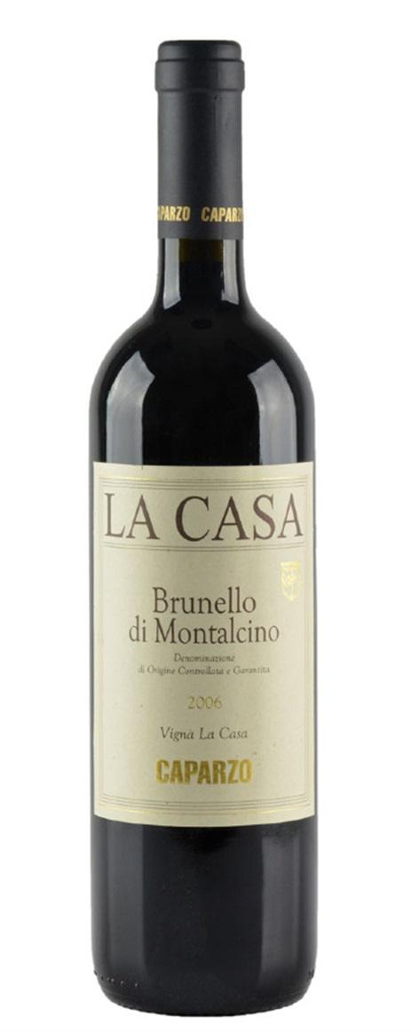 Buy 2006 caparzo brunello di montalcino la casa 750ml online for Casa di 750 m