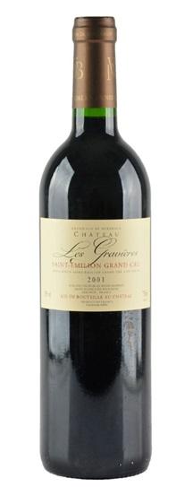 2001 Les Gravieres Bordeaux Blend